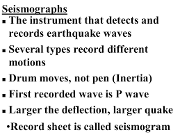 Wisconsin Which Seismic Waves Travel Most Rapidly images Earthquakes n a shaking of the earth 39 s crust caused by a release jpg