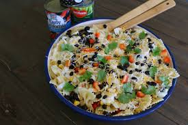 mexican summer pasta salad u2013 it u0027s a lovely life