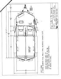 Horse Stall Floor Plans by Hawk Elite Classic Xl Two Horse Trailer Deluxe Rumber Floor Step