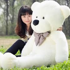 white color cuddly stuffed animals plush teddy