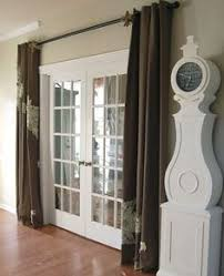 Curtains For Interior French Doors French Doors With Curtains Interior Designs Ideas Home Ideas