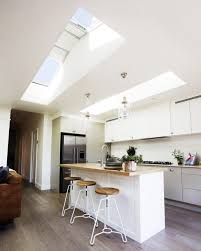concrete ceiling lighting superb kitchen skylight for natural lighting support kitchen