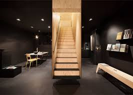 box like staircase forms a centrepiece inside berlin shop Box Stairs Design