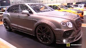 bentley interior black 2017 bentley bentayga mansory black edition exterior interior