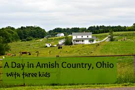 Ohio Amish Country Map by One Day Itinerary For Ohio Amish Country With Kids Suitcases And
