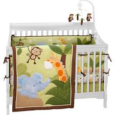 Crib Bedding Jungle Nojo Jungle Time 4 Crib Bedding Set And Baby Makes 5