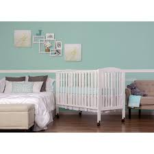 Folding Mini Crib by Why Dream On Me Full Size 2 In 1 Folding Baby Crib Is The Best