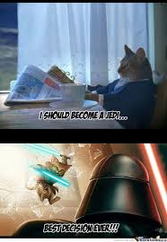 Star Wars Cat Meme - f y i there is a cat race in star wars by borntobefeatured meme