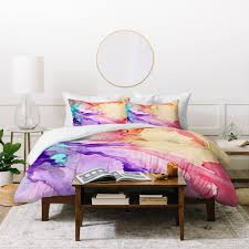 rosie brown color my world duvet cover deny designs
