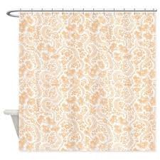 Vintage Floral Shower Curtains Peach Vintage Floral Shower Curtain By Cheriverymery