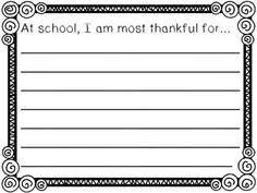 Thanksgiving Writing Paper Free Thanksgiving Writing Paper Seasonal Pinterest