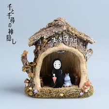 Studio Ghibli Decor Aliexpress Com Buy Hayao Miyazaki Spirited Away Kaonashi Resin