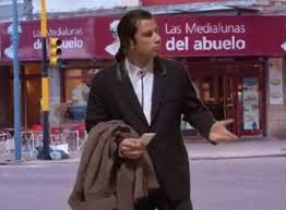 Meme John Travolta - mejores memes por las fotos de john travolta comprando facturas en
