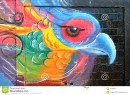 urban art abstract parakeet editorial photo image 58093016 editorial stock photo download urban art abstract