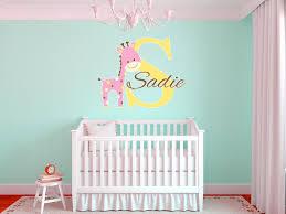 Giraffe Wall Decals For Nursery Inspiring Giraffe Wall Decal Pictures