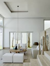 sea view living room simple and modern coastal house with sea view by chut cuerva