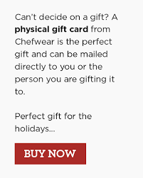 gift card online gift cards e gift cards for chefs buy online chefwear