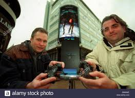 playstation ii launch leicester sq stock photo royalty free image