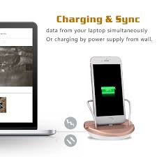 amazon com winstion iphone stand charging dock desk station