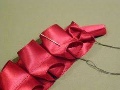 pleated ribbon how to make a lovely pleated ribbon trim sewing lace ribbon work