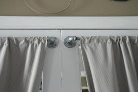 Sash Rod Curtains How To Hang A Door Panel Curtain Gopelling Net