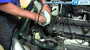 how to replace fix broken windshield washer pump 1998 03 ford