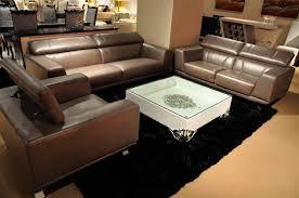 sofa set leather modern centerfieldbar com