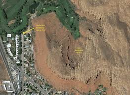 Map St George Utah by The St George Sandstone Quarry Trail In St George Ut