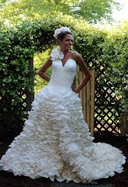 paper wedding dress toilet paper wedding dress winners of 2015 best diy wedding dresses