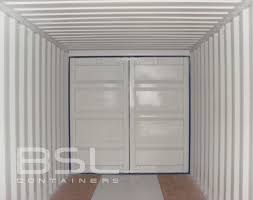 40 u0027 double door shipping containers for sale doors on both ends