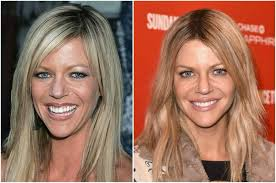 hair color for over 40 with blie eyes kaitlin olson s height weight over 40 and still stunning