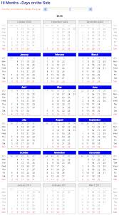 image of adjustable and printable excel calendar 18 month