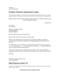 Sle Credit Card Charge Dispute Letter 20 inspirational payment agreement letter exles pictures