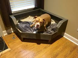 Cedar Dog Bed Handcrafted Large Pallet Dog Bed Designed To Fit Conveniently In