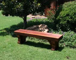rustic memorial cedar benches small garden benches garden
