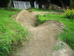 Bmx Backyard Dirt Jumps Wooden Pump Track Backyard Mmmm Mountain Bike Park