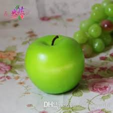 apple home decor accessories 8 5cm large green apple artificial fruits simulation green apple
