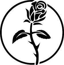 mansion clipart black and white black rose symbolism wikipedia