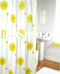 Yellow And White Shower Curtain White And Yellow Curtains Grey And Yellow Curtains Yellow White