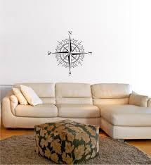 compass wall decal stickers decor graphics amazon com