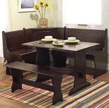 Living Spaces Kitchen Tables by Kitchen Rustic Varnished Kitchen Table With Bench And 4 Chairs