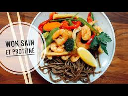 cuisine wok facile wok crevettes cajou repas complet protéiné rapide et facile