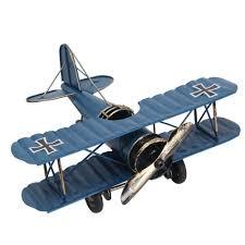 amazon com niceeshop tm retro aircraft metal biplane model home