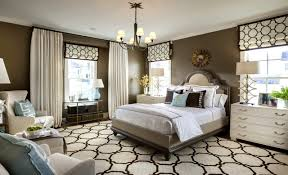 modern spacious guest bedroom design ideas with nice flooring