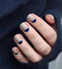50 half moon nail ideas and design