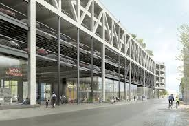 hhf architects transform existing parking structure into public