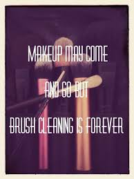 oh seriously i cleaning brushes makeup artist