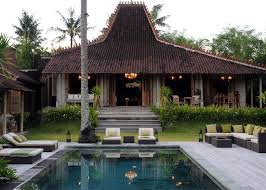 Java 3d Home Design by Excellent Balinese Home Design With Natural Roofing Style And