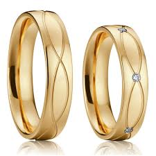matching titanium wedding bands classic alliance wedding band jewelry rings women men