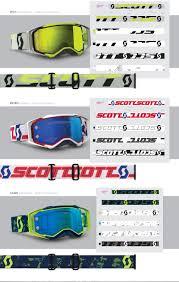 scott prospect motocross goggle 2018 sam rodger u0027s design portfolio scott sports 2018 mx prospect